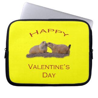 Valentine s Day Kiss Laptop Sleeve