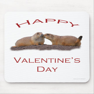Valentine s Day Kiss Mouse Pads