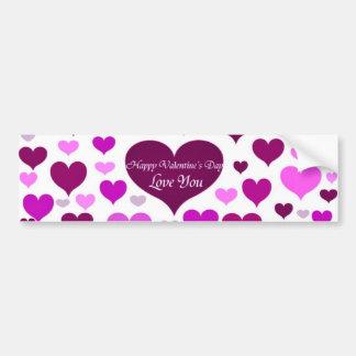 Valentine s Day Love You_ Bumper Sticker