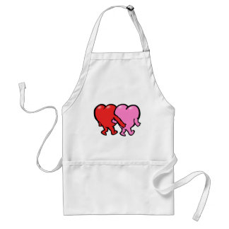 Valentine s Day Lovers Apron
