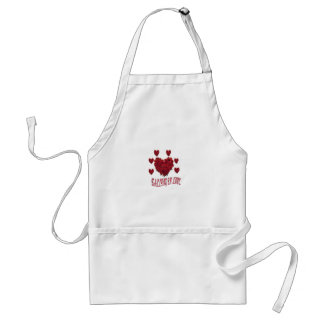 Valentine s Day of love Apron