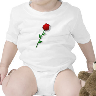 Valentine s Day Rose Baby Creeper