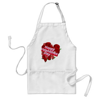 Valentine s Day Roses T-shirts and Gifts Apron