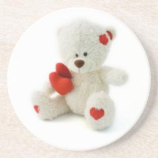Valentine's Day Teddy Bear Coaster
