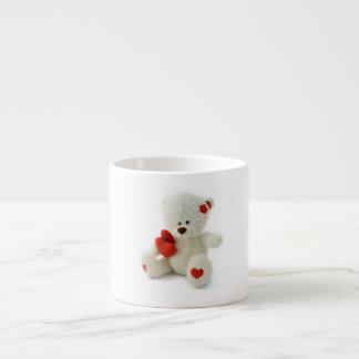 Valentine's Day Teddy Bear Espresso Mug