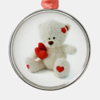 Valentine's Day Teddy Bear Ornament