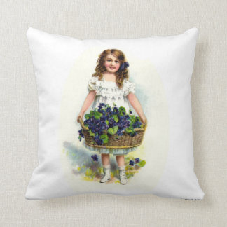 Valentine s Day Vintage Mother s Day Throw Pillows