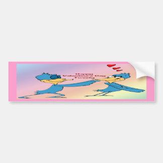 Valentine s Love Birds Bumper Stickers