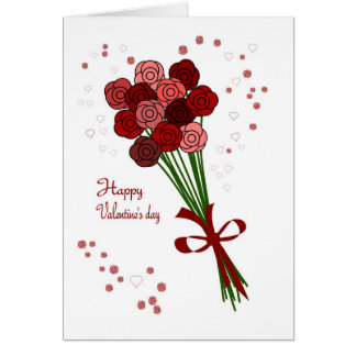 Valentine saint note card