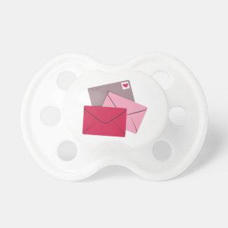 Valentine Stamp BooginHead Pacifier
