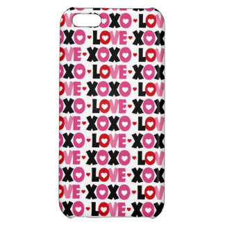 Valentine Sweetheart Love Heart Case For iPhone 5C