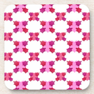 Valentine Turtles Pattern Drink Coasters