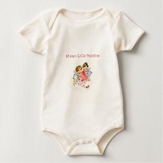 Valentine Two Cupids Mama's Little Valentine Shirt