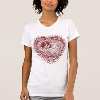 Valentine Victorian Angels T Shirt