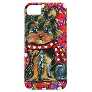 Valentine Yorkie Poo Barely There iPhone 5 Case