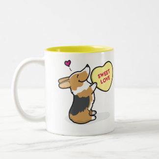 Valentine's 2015-Pembroke Corgi Tri-Col Coffee Mug