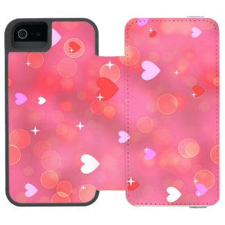 Valentine's background incipio watson™ iPhone 5 wallet case