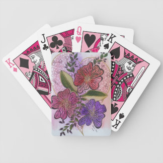 Valentine's Bicycle Playing Cards