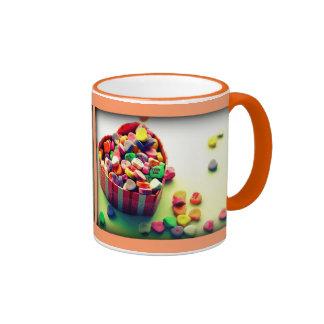 Valentine's Candy Heart Box Ringer Mug