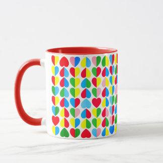 Valentines Candy Hearts Mug
