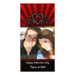 Valentine's card from the two of us personalised photo card