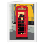 Valentine's Card - Phone Booth