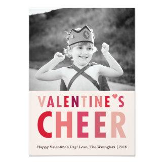 Valentine's Cheer | Valentine's Day Photo Card 13 Cm X 18 Cm Invitation Card