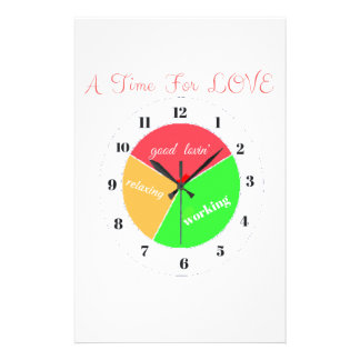VALENTINES DAY  A TIME FOR LOVE  T-SHIRT STATIONERY