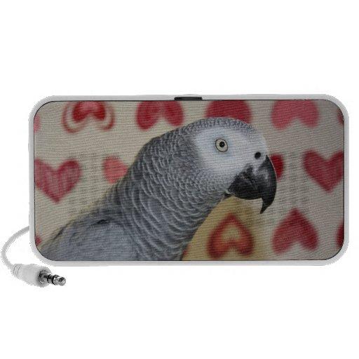 Valentine's Day African Grey Parrot Speaker