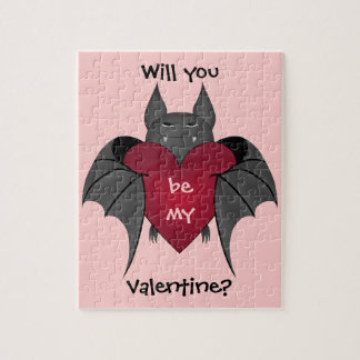 Valentine's Day bat love Puzzle