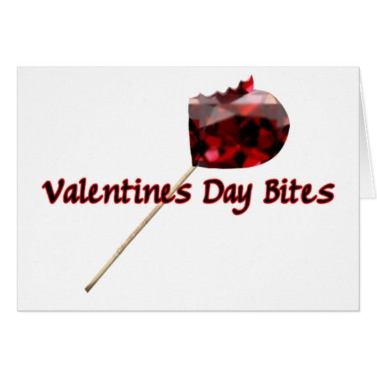 Valentines Day Bites Card