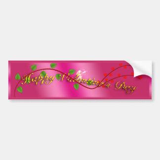 Valentine's Day Bumper Sticker Car Bumper Sticker