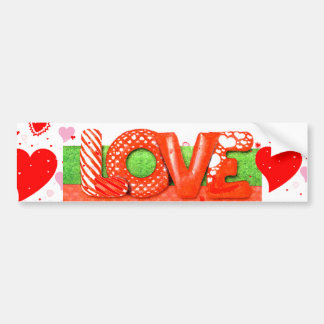 VALENTINES DAY Bumper Sticker