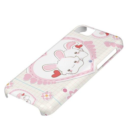 Valentine's Day Bunnies iPhone 5C Case