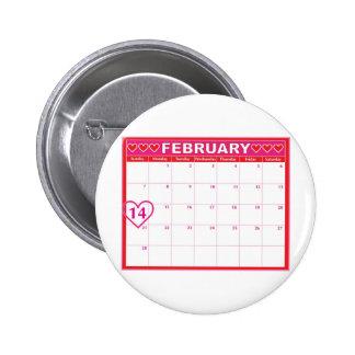 Valentines Day Calendar Pin