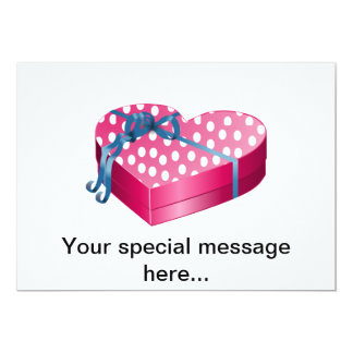 Valentine's Day Candy 13 Cm X 18 Cm Invitation Card