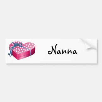 Valentine's Day Candy Car Bumper Sticker