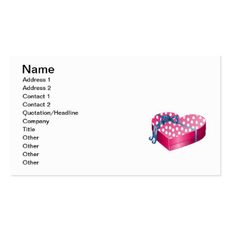 Valentine's Day Candy Business Card Templates