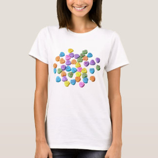 Valentine's Day Candy Hearts Love T-Shirt