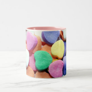 Valentines Day Candy Hearts Coffee Mug
