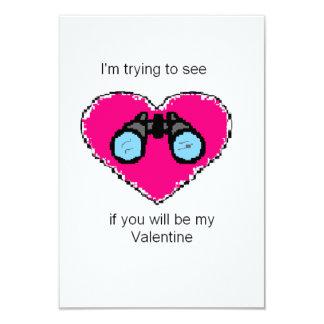 Valentines day card 9 cm x 13 cm invitation card