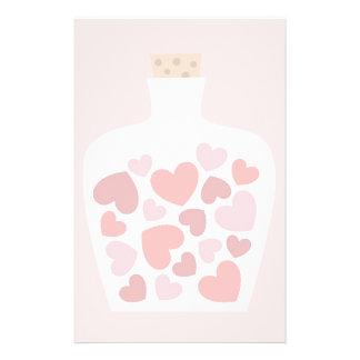 Valentine's Day card design Stationery Paper