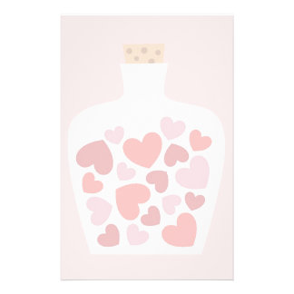 Valentine's Day card design Stationery Paper