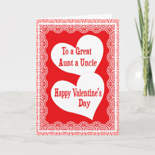 Valentines Day For Aunt Uncle Gifts On Zazzle Au