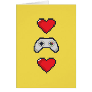 Valentine's Day Card for Gamers