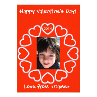 Valentine's Day card for kids English & Spanish