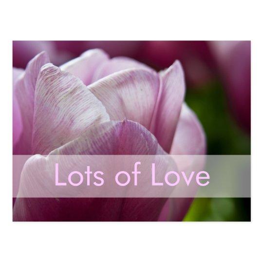 Valentine's Day Card | Valentinskarte Tulpen