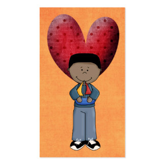 Valentines Day Cards to hand out for Kids Pack Of Standard Business Cards