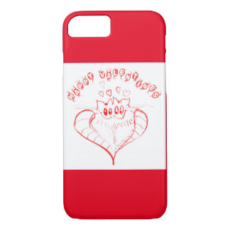 Valentine's Day Cats iPhone Case