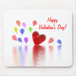 Valentines Day Celebration Mouse Pad